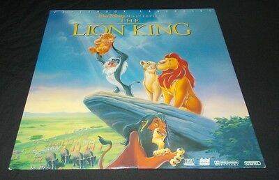 The Lion King Laserdisc Laser Disc Vgc