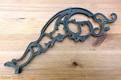 vintage french bronze brass Ornate Ornament Pediment for furniture