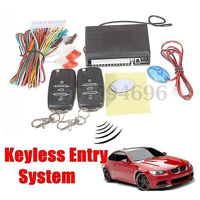 Remote Control Central Lock System Auto Locking Keyless Entry Kit for  VW Golf