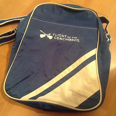 Official HBO Flight of the Conchords Blue Messenger Bag Extremely Rare 2008
