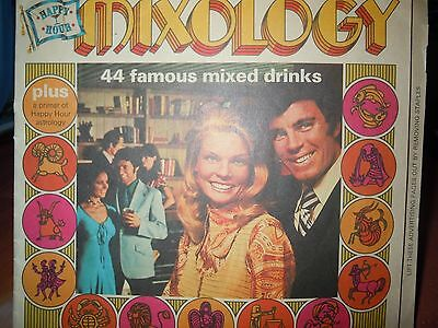 Vintage Happy Hour Mixology 44 Famous Mixed Drinks Recipe Booklet 1971