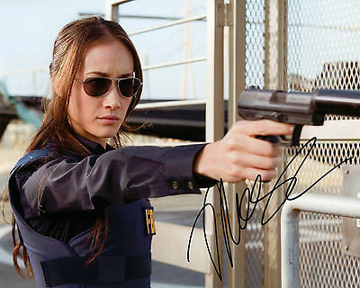 Maggie Q - Mai Linh - Die Hard 4.0 - Signed Autograph REPRINT