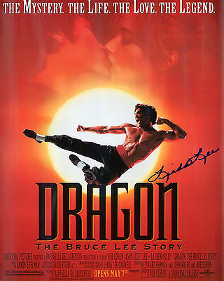 Linda Lee - Dragon: The Bruce Lee Story - Signed Autograph REPRINT