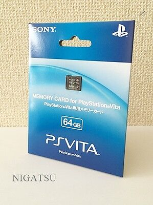 NEW PS VITA Memory Card 64GB [Sony Official] PSV From JAPAN