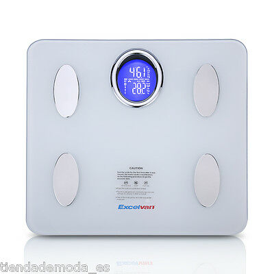 180kg/400lb Digital Bluetooth Scale Body Fat Scale Free APP for iOS Android AU