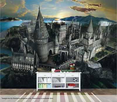 Harry Potter Wall Mural Wall Art Quality Pastable Wallpaper Decal Hogwarts