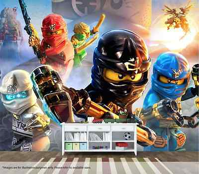 Ninjago Wall Mural Wall Art Quality Pasteable Wallpaper Decal