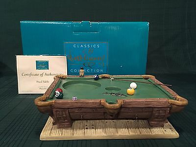 WDCC Pinocchio Pool Table Base New in Box