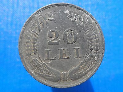 20 lei 1942 Romania Coin Low Shipping! Combine FREE!