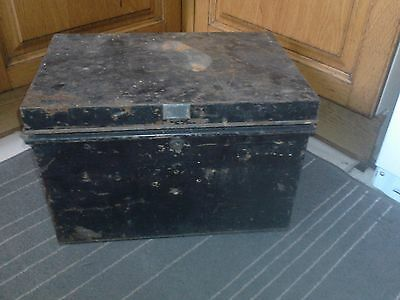 vintage strong box, F.C.B & Co