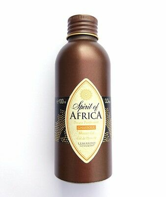 Spirit of Africa Ghassoul - I Coloniali Atkinsons - Doccia Purificante 100ml