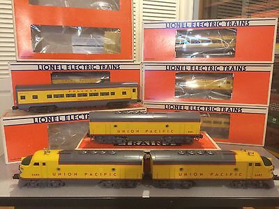 Lionel 8480/8481 UP F-3 ABA with 9545-9549 Cars + 7210
