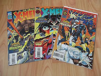 Marvel Comics The Amazing X-Men Issue 1, 3 and 4
