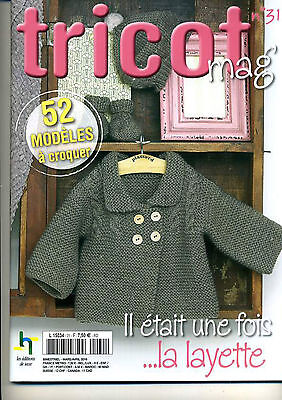 Catalogue Tricot Mag N° 31 Special Layette