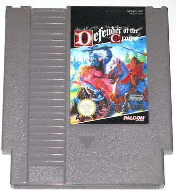 DEFENDER OF THE CROWN - Nintendo NES Game - PAL A Version