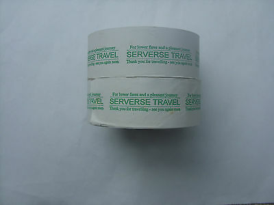 2 full, unused Wayfarer 3 rolls printed Serverse Travel