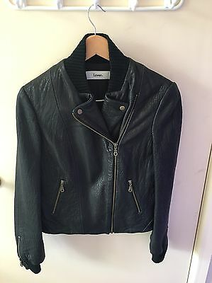 LOVER leather jacket Size 8 -10