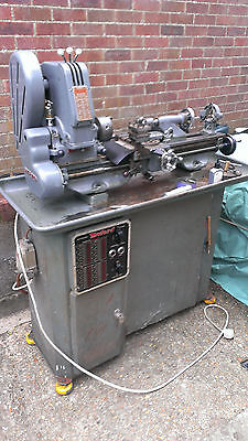 Myford Tri Lever Super 7 Lathe and Stand with Milling Attachment