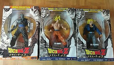 """Dragon Ball Z Movie Collection limited edition lot of figures (RARE)9"""""""