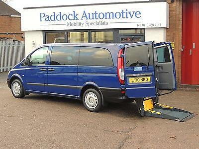 Mercedes Vito Automatic Driver Transfer Disabled Wheelchair Adapted Vehicle WAV