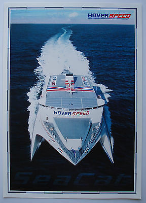 Hoverspeed Seacat Poster