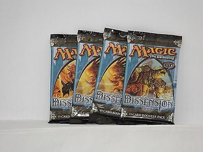 Magic the Gathering Dissension Booster Pack x4  *New & Sealed*