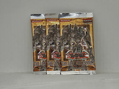 Yu-Gi-Oh The Lost Millennium Special Edition Booster x3  *New & Sealed*