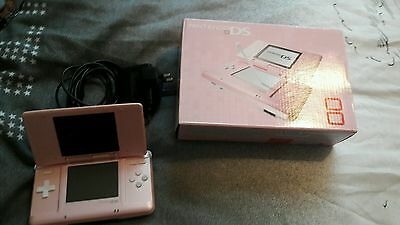 Retro boxed pink nintendo ds plus games bundle
