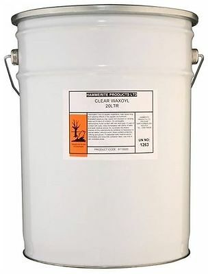 Hammerite Waxoyl Rust Treatment Pail Clear 20 L High Quality Body Maintenance