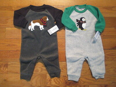 2 piece LOT of baby boy fall/winter clothes size 6 months NWT