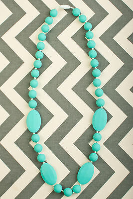 Silicone Teething/Nursing/Breastfeeding Chew Necklace Jewelry Beads - NEW COLORS