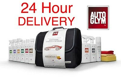 Autoglym Perfect Bodywork Wheels Interior Collection Kit Car Cleaning Gift Set