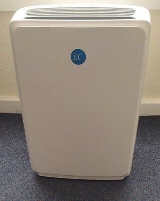 New/Boxed EC 16L Platinum Dehumidifier With Remote Control And Ioniser RRP £199