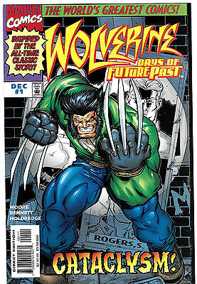 Wolverine Days Of Future Past 1 2 3 Complete Series Full Run