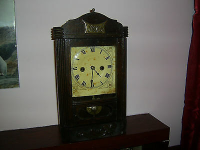 HAC MANTEL BRACKET CLOCK working for restoration