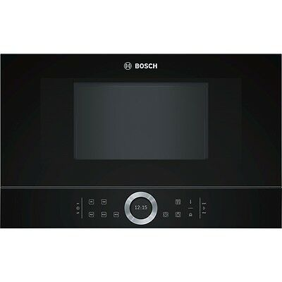 Bosch BFR634GB1 Microwave Oven Black Autopilot 7 LED Light 21L 900W Genuine New