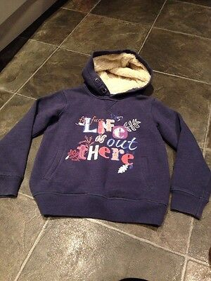 Fat Face Girls Hoodie Size 8/9yrs