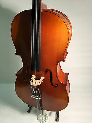 Good quality German Cello outfit, ¾ size, with good bow and padded case