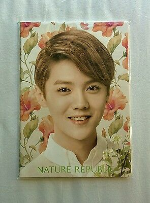 EXO Luhan Nature Republic Notebook (Official and Sealed)