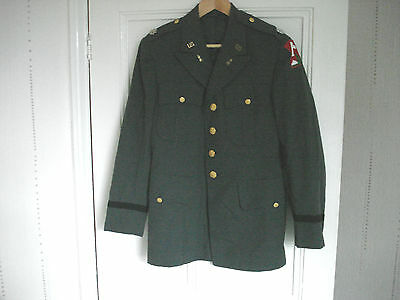 United States Us Army Lieutenant Colonel's Uniform Jacket 70Th Infantry Division