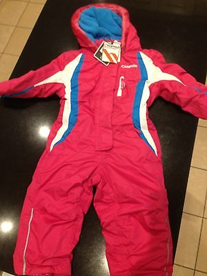 Brand New With Tags Campri Ski Suit Pink Girls 2-3 & 3-4 Years Old