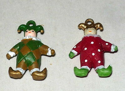 """Dept 56 Dickens Village """"old Puppeteer"""" Retired Set 2 Puppet Attachments #58025"""