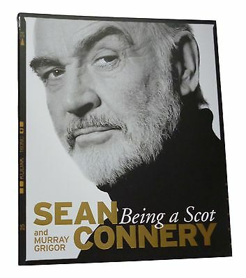 Sean Connery Signed Being A Scot James Bond 007 Autograph Paperback