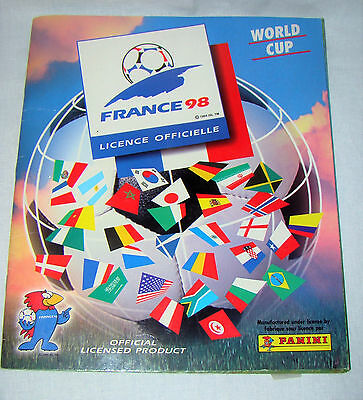 Album Football Panini Complet World Cup France 98