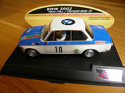 BMW 2002 Tony Fall Olympia Rally 1972. Spirit