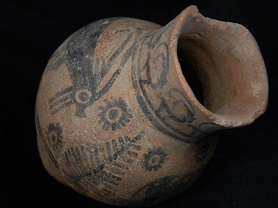 Ancient Teracotta Painted Pot With Animals Indus Valley 2500 BC    #PT15493