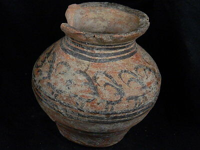 Ancient Teracotta Painted Pot With Animals Indus Valley 2500 BC     #PT15357