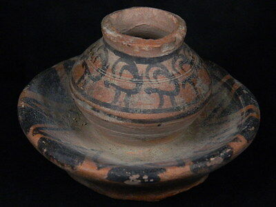 Ancient Teracotta Painted Pot With Animals Indus Valley 2500 BC   #PT15495