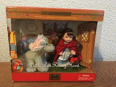 Barbie Collectibles Storybook Favorites Little Red Riding Hood