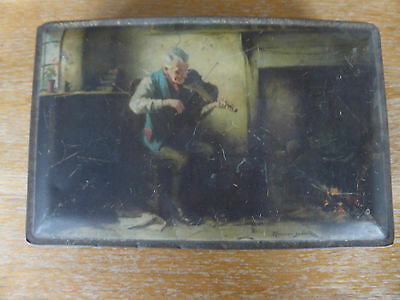 "vintage edward sharp and son tin 9"" x 6"" approx"